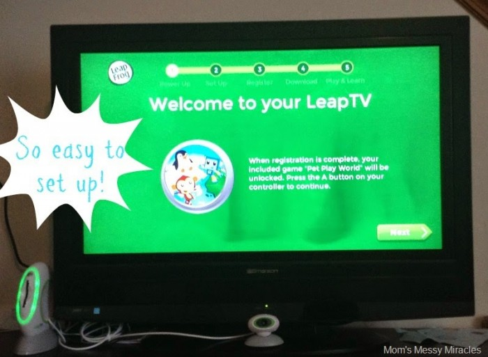 welcome to leaptv