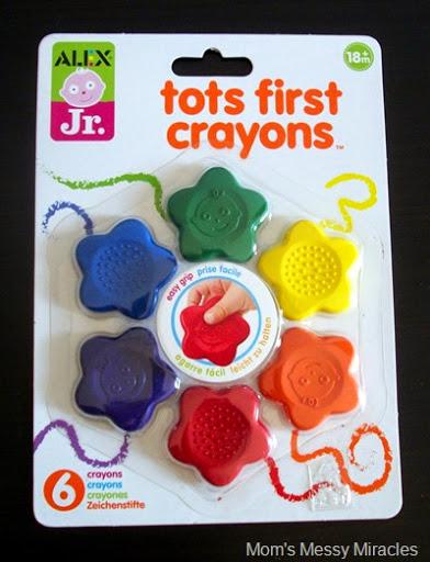 ALEX Jr Tots First Crayons