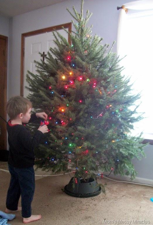 hanging Optimus Prime ornament