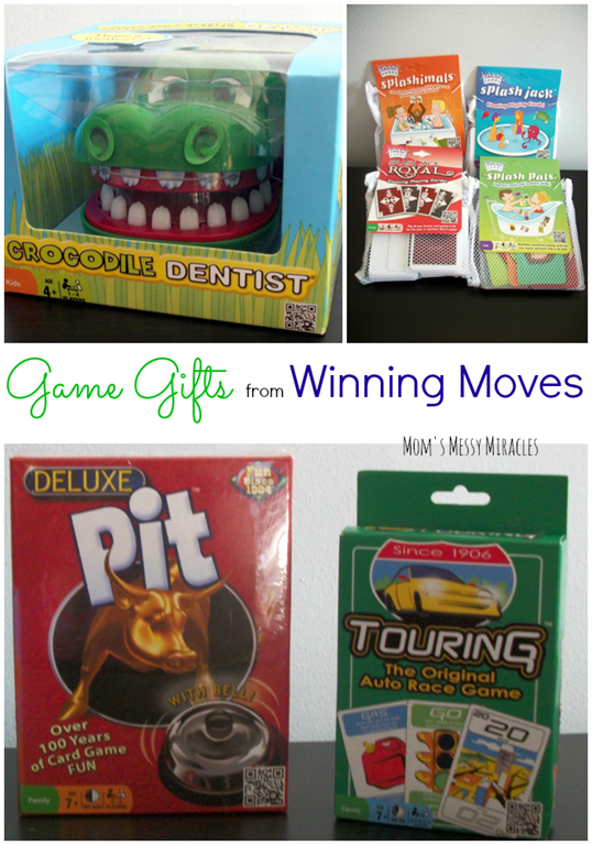 Game Gifts from Winning Moves
