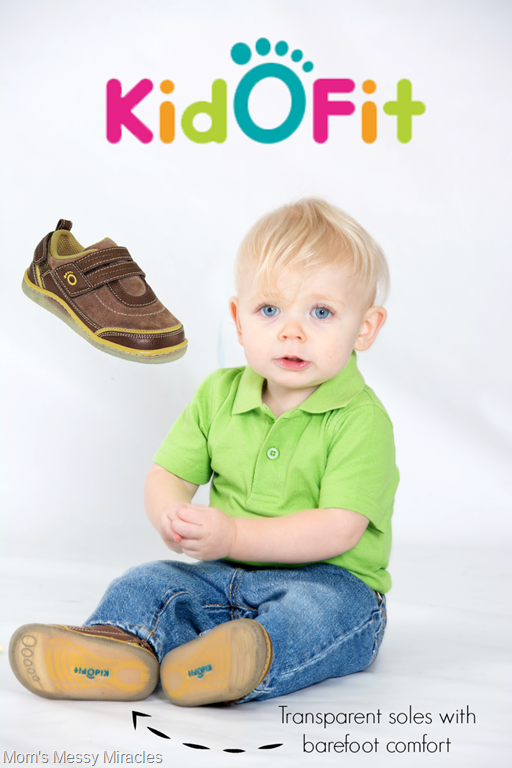 KidOFit shoes pin