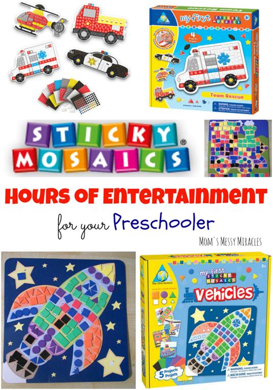 Sticky Mosaics Pin