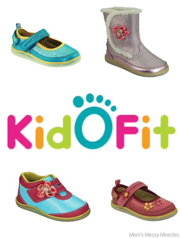 kidofit girls shoes