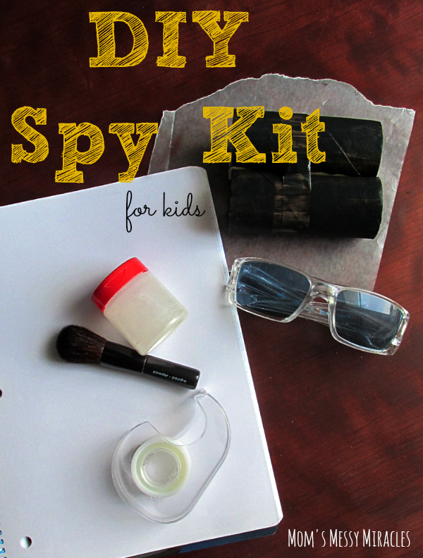 Diy Spy Kit For Kids The Shirley Journey