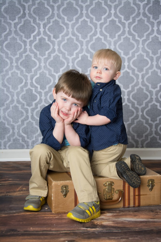 Charlie and Owen Spring 2015