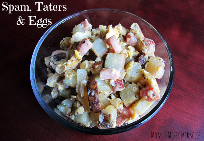 Spam Taters and Eggs