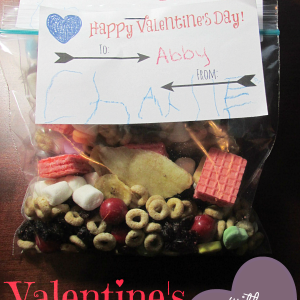 Valentin's Snack Mix Printable