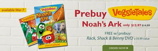 prebuy VeggieTales Noah's Ark