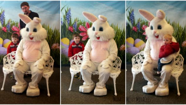 Easter Bunny at Church