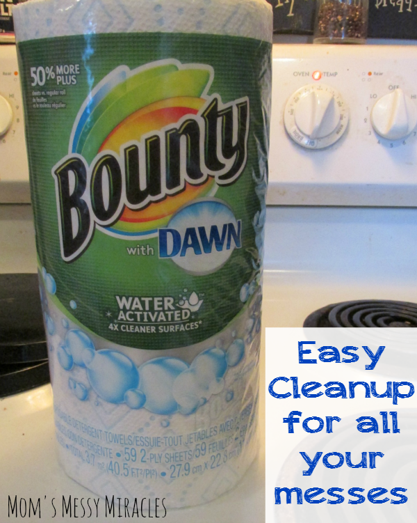 Easy Cleanup Bounty with Dawn