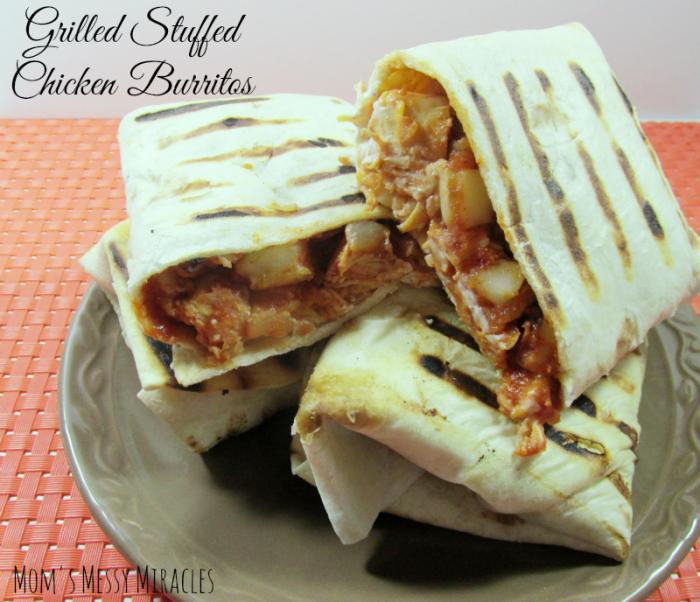 Grilled Stuffed Burritos Manwich