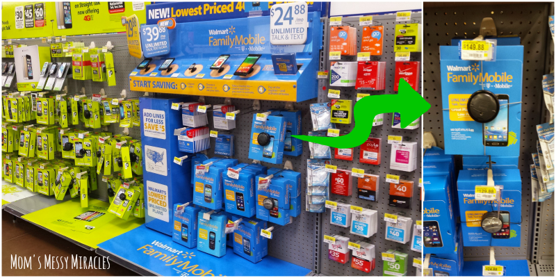Where to find your Walmart Family Mobile Phone