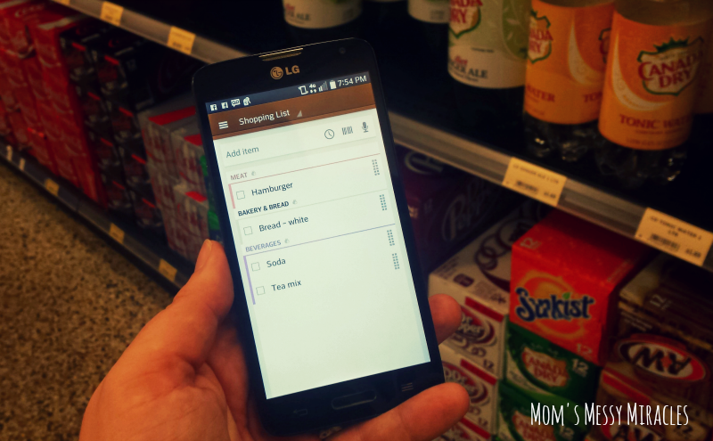 Out of Milk Grocery Shopping App