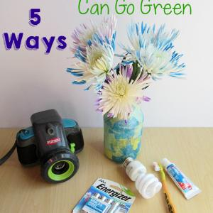 Preschoolers Can Go Green