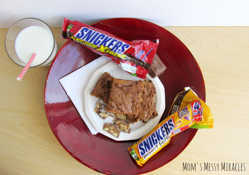 Snickers Extreme and Peanut Butter Cake Mix Cookies