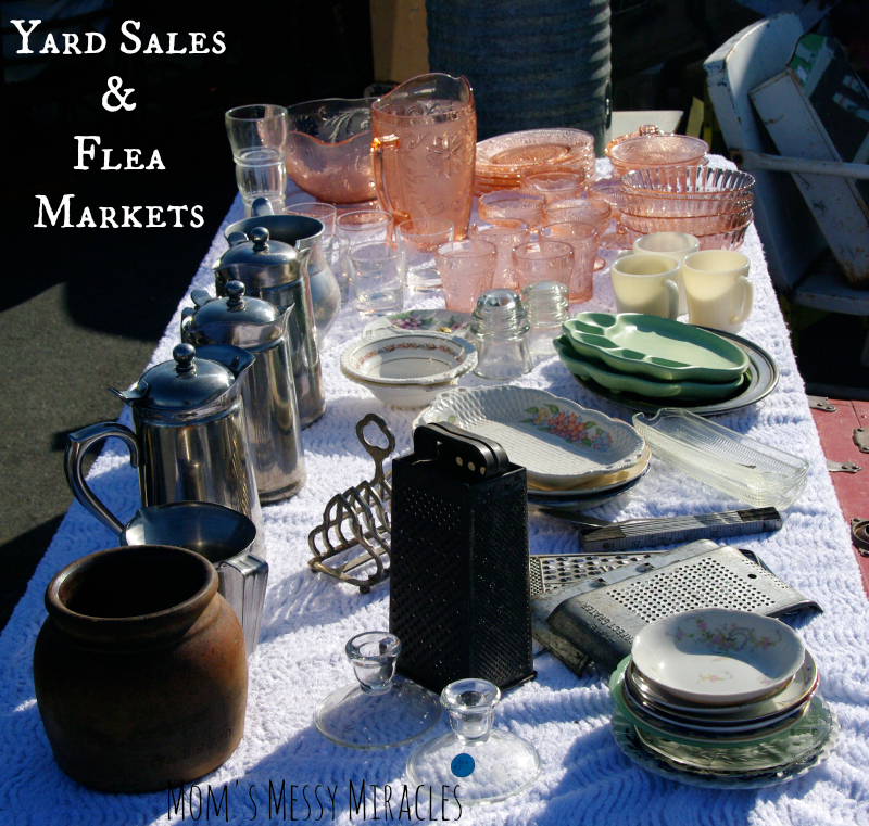 Yard Sales & Flea Markets for Props