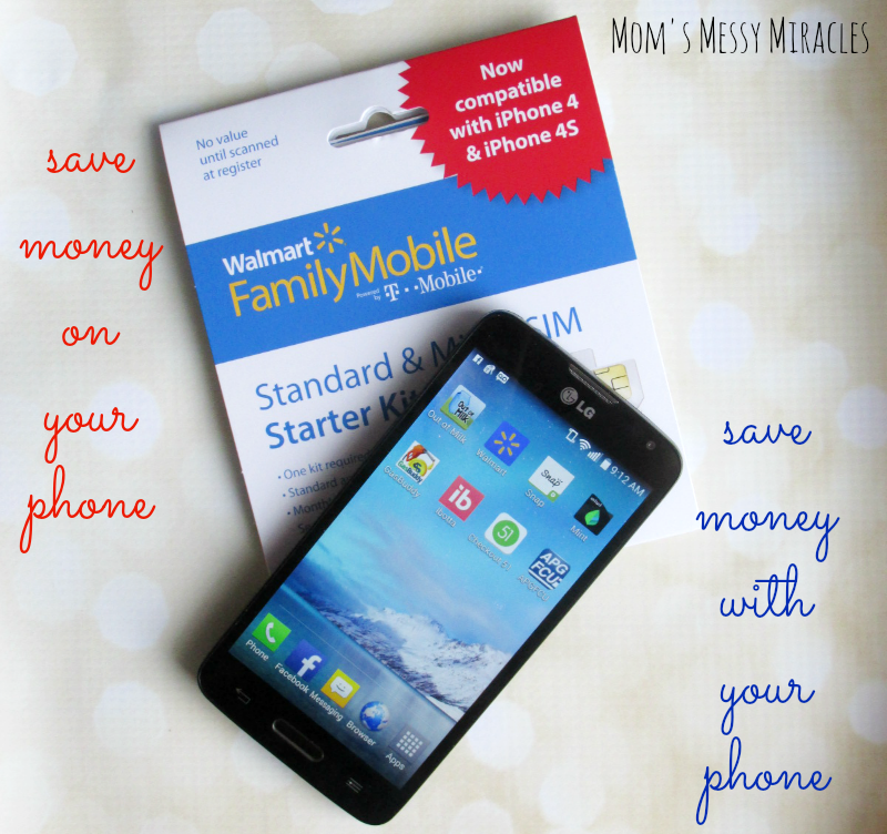 These are some great ideas on how you can save money ON your smartphone with Walmart Family Mobile and  WITH your smartphone using apps! #MarchIntoSavings #cbias #ad