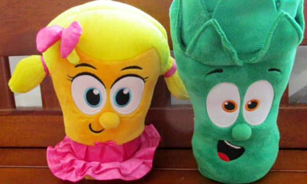 Bring your favorite VeggieTales friends to life with toys!