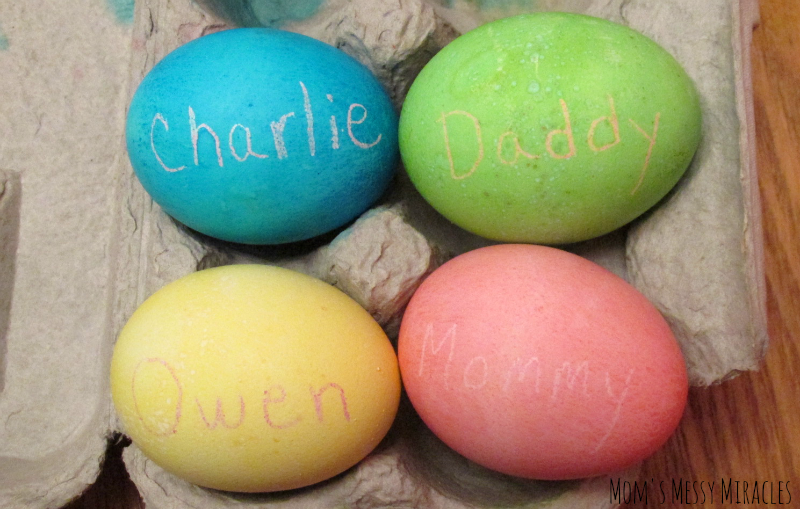 Dyed Eggs 2015