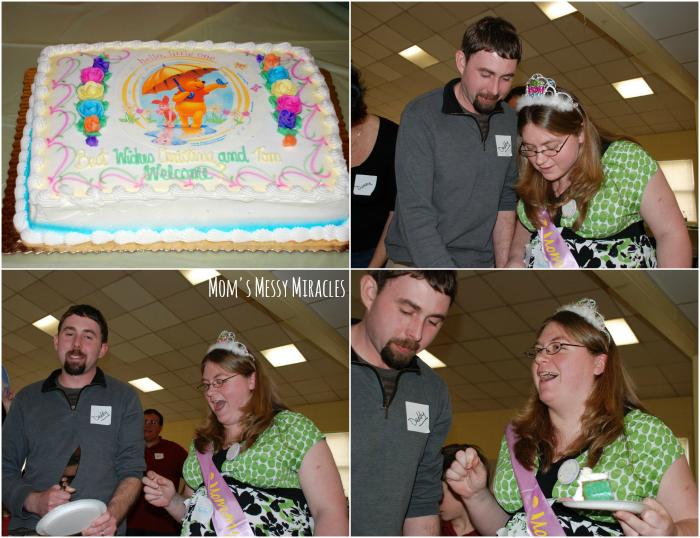 Gender Reveal Cake Baby Shower