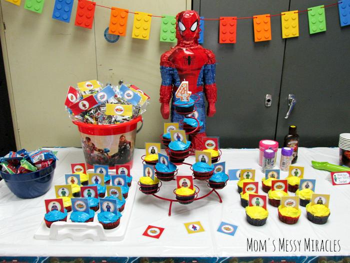 Easy Homemade Superhero Cake