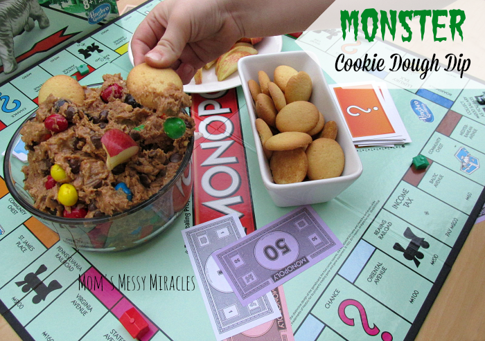 Monopoly Monster Cookie Dough Dip