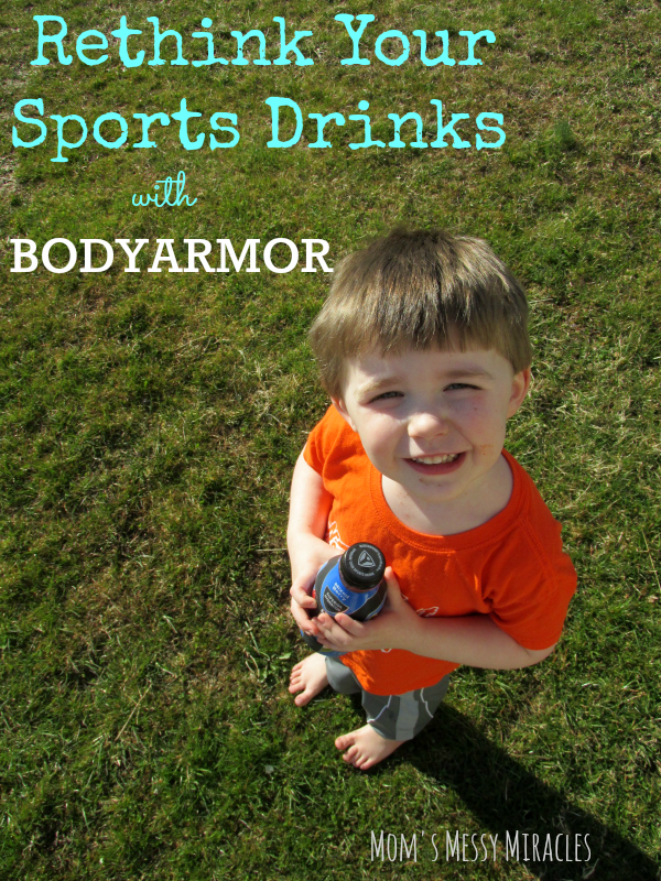 Rethink Your Sports Drinks BODYARMOR- made from natural ingredients!