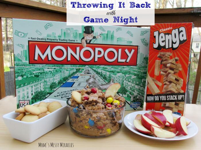 Throwing it back Game Night