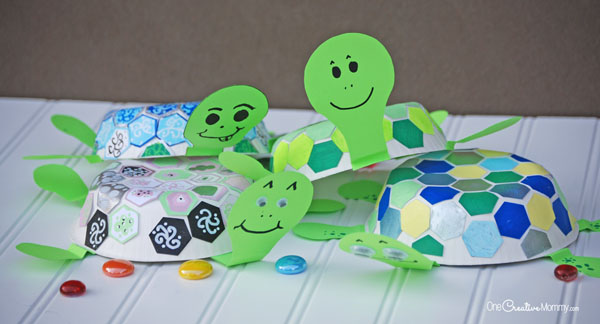 turtle-craft-for-kids-mosaic-3
