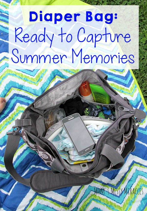 Get the diaper bag loaded to create memories this summer and be ready to capture and share them with Walmart Family Mobile!