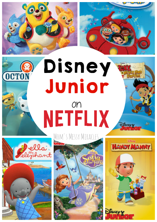 You can watch your favorite Disney Junior shows on Netflix!