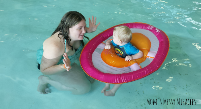 Mommy and Owen SwimWays