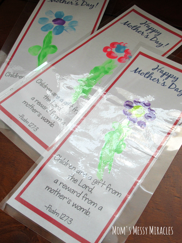 Free Printable Bookmark Craft For Mother S Day The Shirley Journey