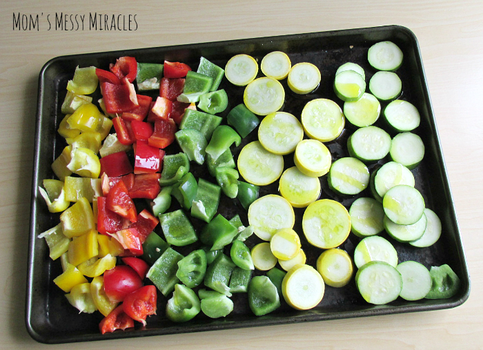 Roasted Veggies Summer Salad
