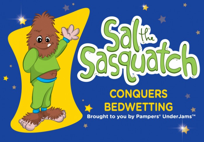 Sal the Sasquatch book