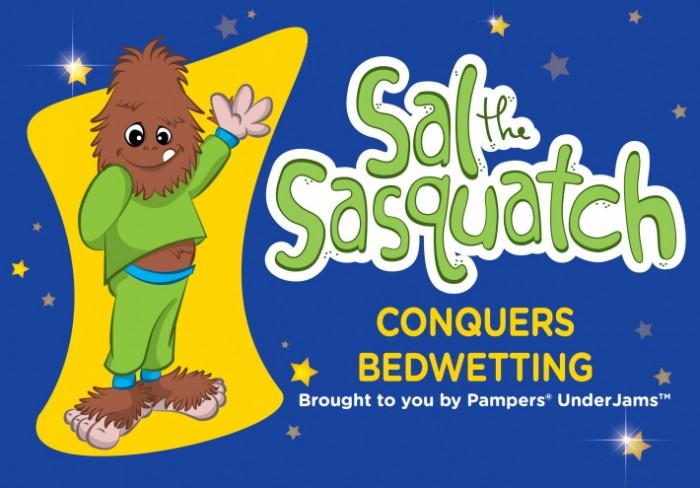 Sal the Sasquatch book
