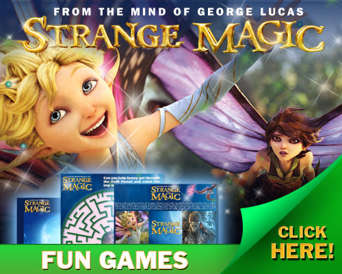 Strange Magic Activities