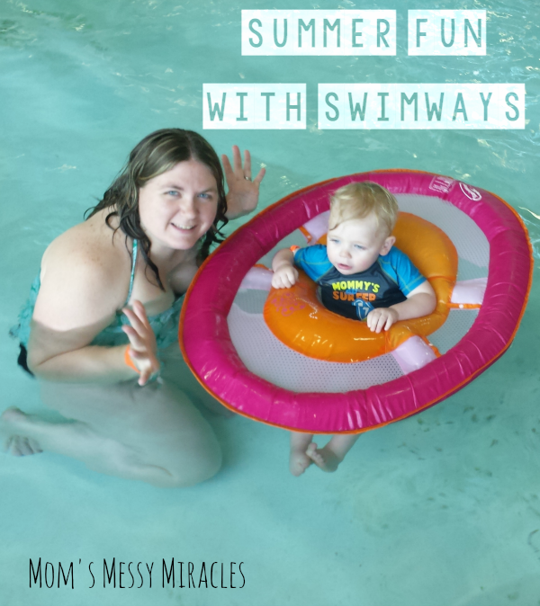 Summer Fun with SwimWays - SwimWays has been teaching children to swim for over 40 years.