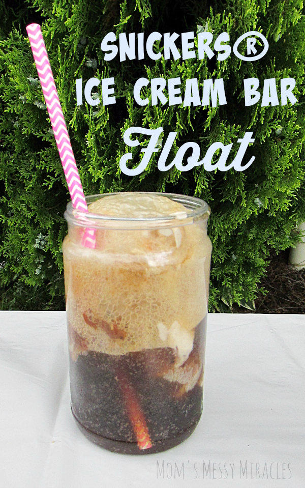 SNICKERS® Ice Cream Bar Float