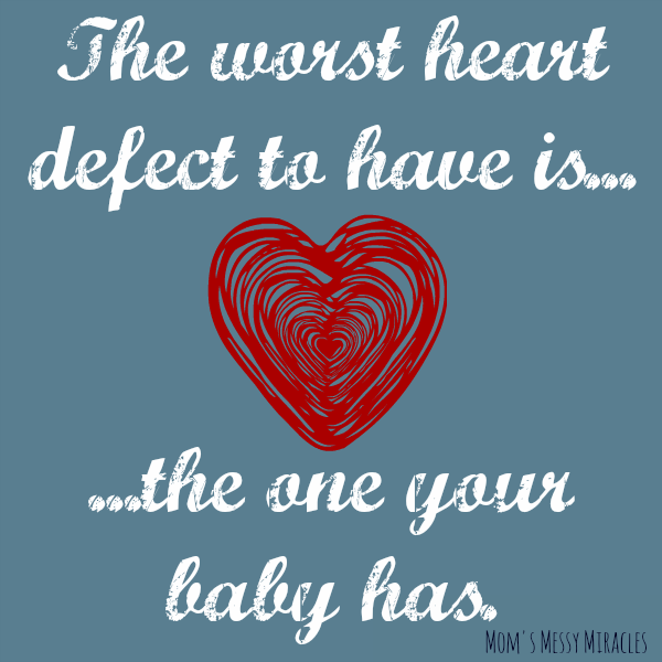 worst heart defect