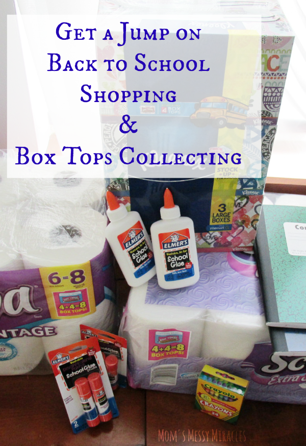 Get a jump on your back to school shopping and get double box tops on select items at Walmart!