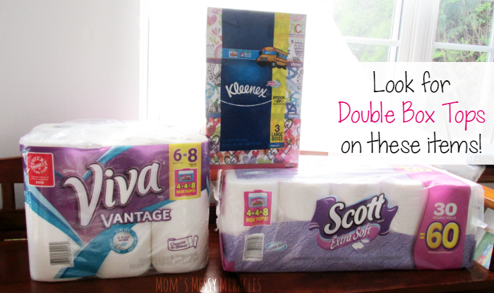 Double Box Tops Items