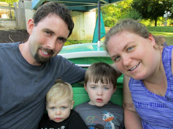 Dutch Wonderland Gondola Ride Family