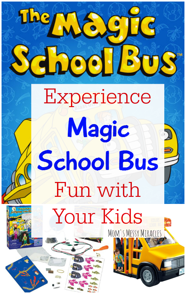 Magic School Bus Fun with your kids! Experiments, books, toys,  and a science club subscription!