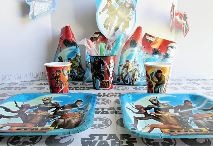 Star Wars Rebels table
