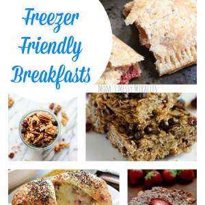 19 Freezer Friendly Breakfasts