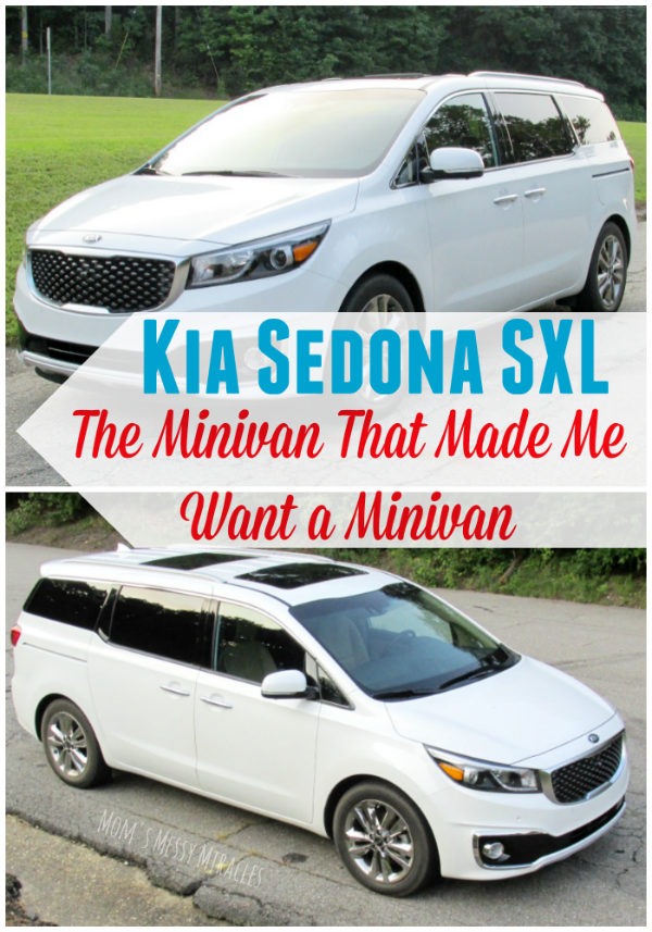 The 2015 Kia Sedona SXL is the minivan that made me want a minivan!