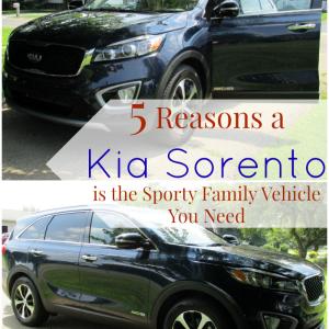 5 Reasons Kia Sorento