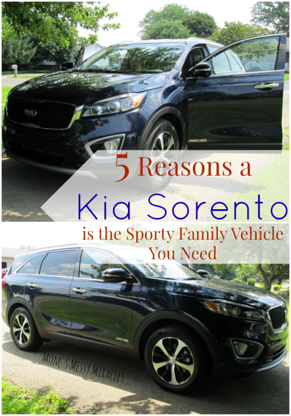 The 2016 Kia Sorento is a great option for those that need space for 7, but still want to drive a cool sporty vehicle!