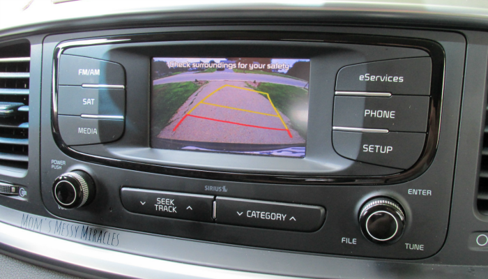 Center Display on Kia Sorento